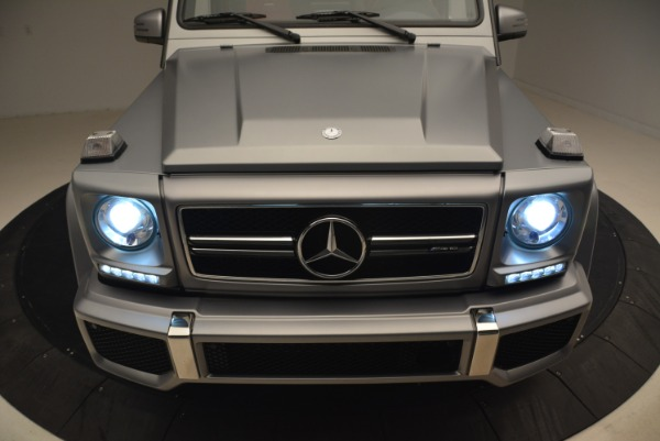 Used 2017 Mercedes-Benz G-Class AMG G 63 for sale Sold at Bugatti of Greenwich in Greenwich CT 06830 15