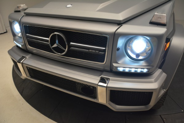 Used 2017 Mercedes-Benz G-Class AMG G 63 for sale Sold at Bugatti of Greenwich in Greenwich CT 06830 16