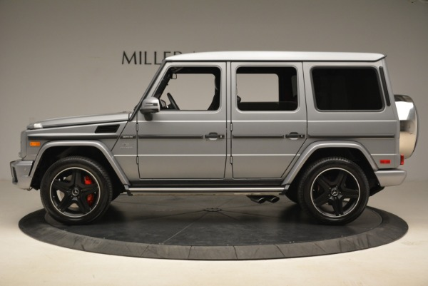 Used 2017 Mercedes-Benz G-Class AMG G 63 for sale Sold at Bugatti of Greenwich in Greenwich CT 06830 3
