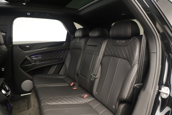 Used 2018 Bentley Bentayga W12 Signature for sale Sold at Bugatti of Greenwich in Greenwich CT 06830 22