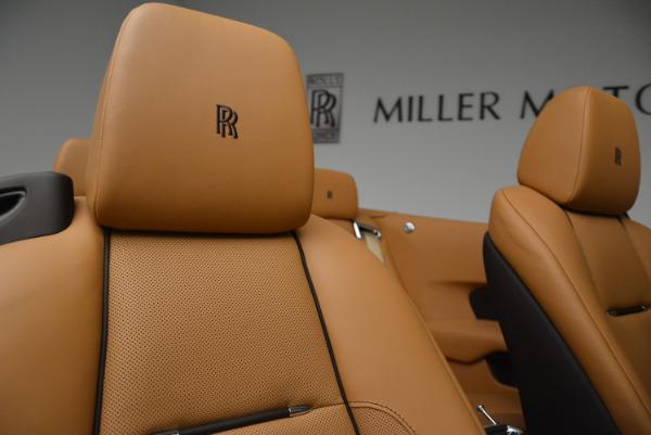 Used 2018 Rolls-Royce Dawn for sale Sold at Bugatti of Greenwich in Greenwich CT 06830 28