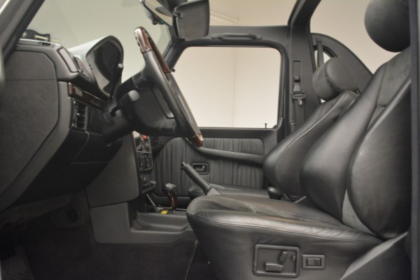 Used 2000 Mercedes-Benz G500 RENNTech for sale Sold at Bugatti of Greenwich in Greenwich CT 06830 14