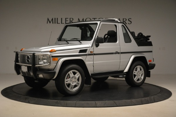 Used 2000 Mercedes-Benz G500 RENNTech for sale Sold at Bugatti of Greenwich in Greenwich CT 06830 2