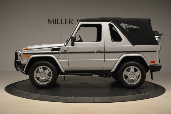 Used 2000 Mercedes-Benz G500 RENNTech for sale Sold at Bugatti of Greenwich in Greenwich CT 06830 27