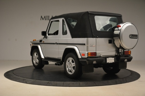 Used 2000 Mercedes-Benz G500 RENNTech for sale Sold at Bugatti of Greenwich in Greenwich CT 06830 28