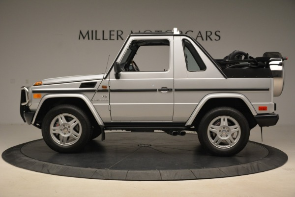 Used 2000 Mercedes-Benz G500 RENNTech for sale Sold at Bugatti of Greenwich in Greenwich CT 06830 3
