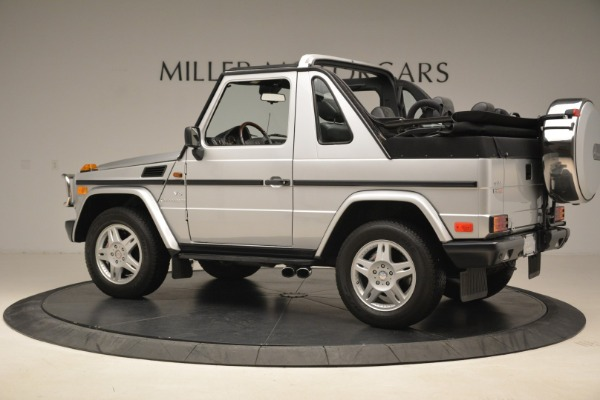 Used 2000 Mercedes-Benz G500 RENNTech for sale Sold at Bugatti of Greenwich in Greenwich CT 06830 4
