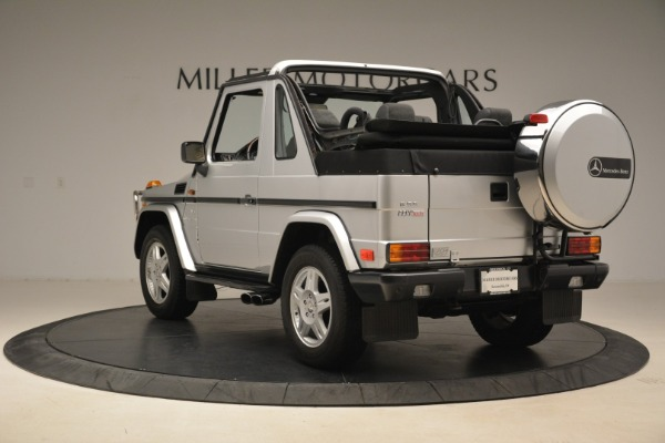 Used 2000 Mercedes-Benz G500 RENNTech for sale Sold at Bugatti of Greenwich in Greenwich CT 06830 5