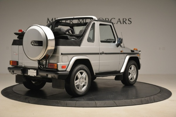 Used 2000 Mercedes-Benz G500 RENNTech for sale Sold at Bugatti of Greenwich in Greenwich CT 06830 7
