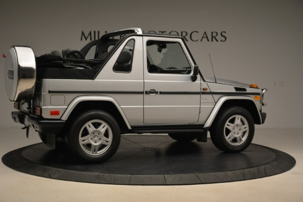 Used 2000 Mercedes-Benz G500 RENNTech for sale Sold at Bugatti of Greenwich in Greenwich CT 06830 8
