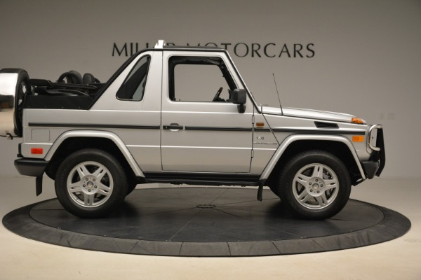 Used 2000 Mercedes-Benz G500 RENNTech for sale Sold at Bugatti of Greenwich in Greenwich CT 06830 9