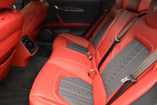 New 2018 Maserati Quattroporte S Q4 GranLusso for sale Sold at Bugatti of Greenwich in Greenwich CT 06830 19