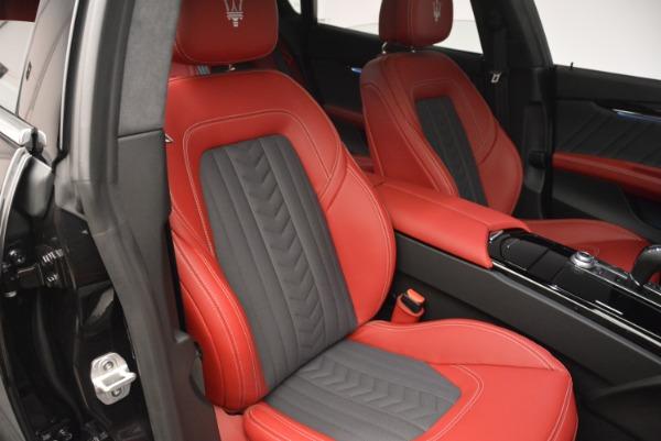 New 2018 Maserati Quattroporte S Q4 GranLusso for sale Sold at Bugatti of Greenwich in Greenwich CT 06830 23