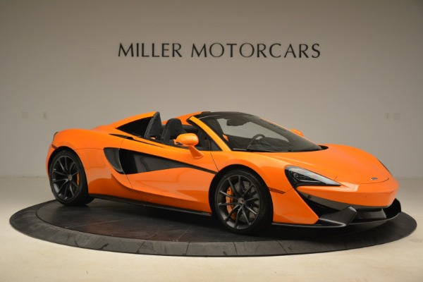 Used 2018 McLaren 570S Spider Convertible for sale Sold at Bugatti of Greenwich in Greenwich CT 06830 10