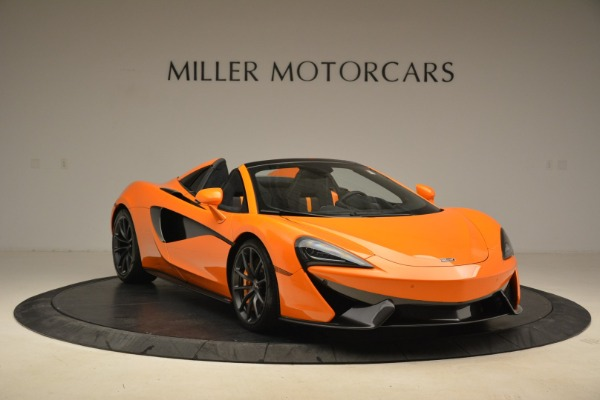 Used 2018 McLaren 570S Spider Convertible for sale Sold at Bugatti of Greenwich in Greenwich CT 06830 11