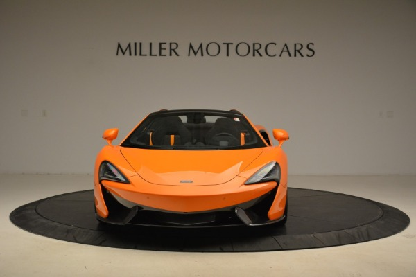 Used 2018 McLaren 570S Spider Convertible for sale Sold at Bugatti of Greenwich in Greenwich CT 06830 12