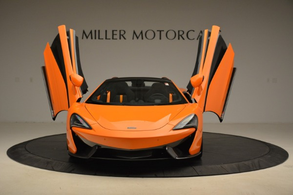 Used 2018 McLaren 570S Spider Convertible for sale Sold at Bugatti of Greenwich in Greenwich CT 06830 13