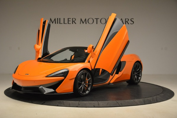 Used 2018 McLaren 570S Spider Convertible for sale Sold at Bugatti of Greenwich in Greenwich CT 06830 14