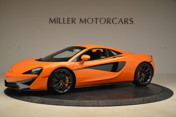 Used 2018 McLaren 570S Spider Convertible for sale Sold at Bugatti of Greenwich in Greenwich CT 06830 15