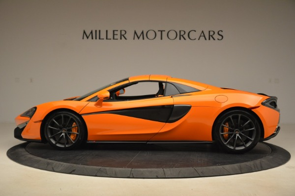 Used 2018 McLaren 570S Spider Convertible for sale Sold at Bugatti of Greenwich in Greenwich CT 06830 16