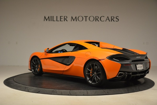 Used 2018 McLaren 570S Spider Convertible for sale Sold at Bugatti of Greenwich in Greenwich CT 06830 17