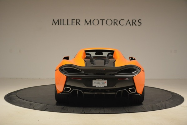 Used 2018 McLaren 570S Spider Convertible for sale Sold at Bugatti of Greenwich in Greenwich CT 06830 18