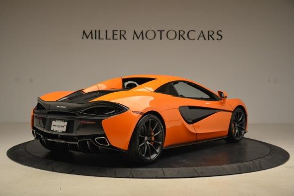 Used 2018 McLaren 570S Spider Convertible for sale Sold at Bugatti of Greenwich in Greenwich CT 06830 19