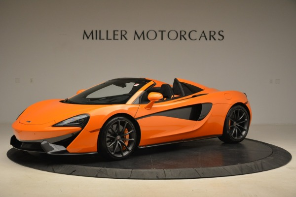 Used 2018 McLaren 570S Spider Convertible for sale Sold at Bugatti of Greenwich in Greenwich CT 06830 2