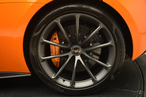 Used 2018 McLaren 570S Spider Convertible for sale Sold at Bugatti of Greenwich in Greenwich CT 06830 24