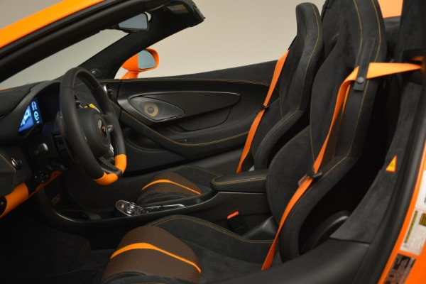 Used 2018 McLaren 570S Spider Convertible for sale Sold at Bugatti of Greenwich in Greenwich CT 06830 26