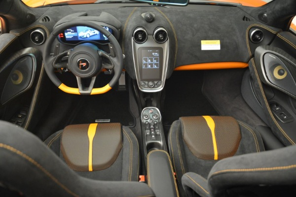 Used 2018 McLaren 570S Spider Convertible for sale Sold at Bugatti of Greenwich in Greenwich CT 06830 28