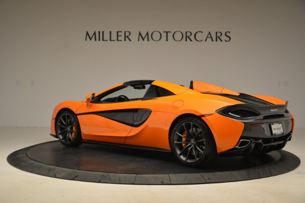 Used 2018 McLaren 570S Spider Convertible for sale Sold at Bugatti of Greenwich in Greenwich CT 06830 4