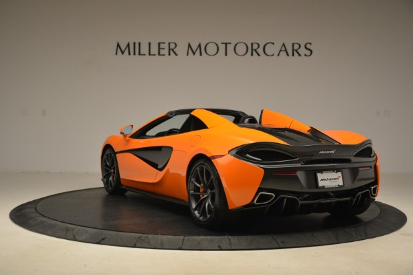 Used 2018 McLaren 570S Spider Convertible for sale Sold at Bugatti of Greenwich in Greenwich CT 06830 5