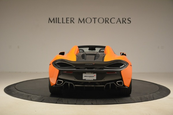 Used 2018 McLaren 570S Spider Convertible for sale Sold at Bugatti of Greenwich in Greenwich CT 06830 6