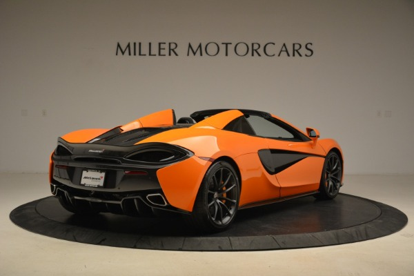 Used 2018 McLaren 570S Spider Convertible for sale Sold at Bugatti of Greenwich in Greenwich CT 06830 7