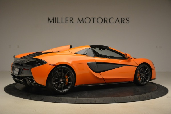 Used 2018 McLaren 570S Spider Convertible for sale Sold at Bugatti of Greenwich in Greenwich CT 06830 8