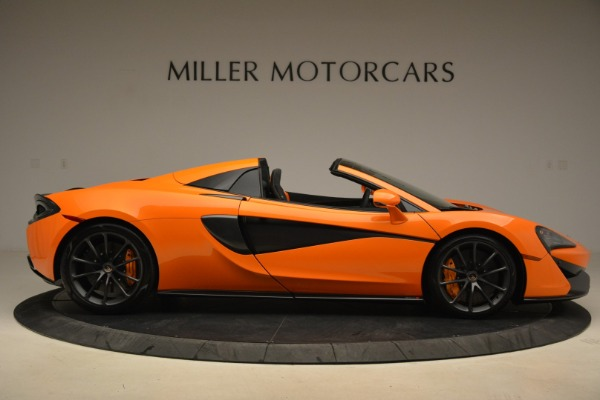 Used 2018 McLaren 570S Spider Convertible for sale Sold at Bugatti of Greenwich in Greenwich CT 06830 9