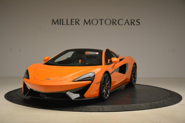 Used 2018 McLaren 570S Spider Convertible for sale Sold at Bugatti of Greenwich in Greenwich CT 06830 1
