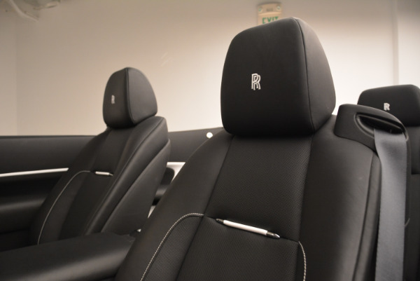 New 2018 Rolls-Royce Dawn Black Badge for sale Sold at Bugatti of Greenwich in Greenwich CT 06830 28