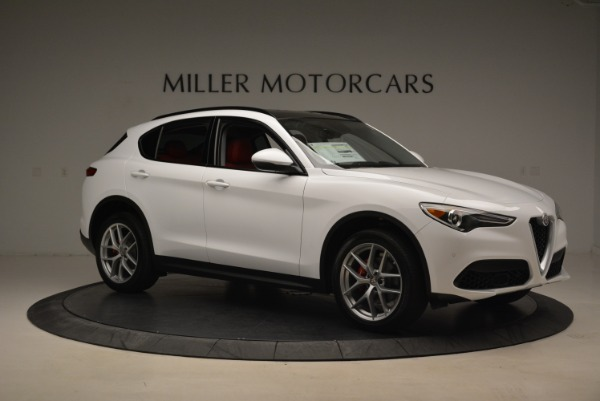 New 2018 Alfa Romeo Stelvio Ti Sport Q4 for sale Sold at Bugatti of Greenwich in Greenwich CT 06830 10