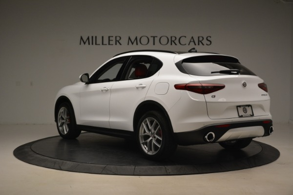 New 2018 Alfa Romeo Stelvio Ti Sport Q4 for sale Sold at Bugatti of Greenwich in Greenwich CT 06830 5
