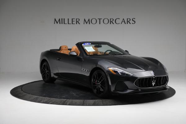 New 2018 Maserati GranTurismo Sport Convertible for sale Sold at Bugatti of Greenwich in Greenwich CT 06830 21