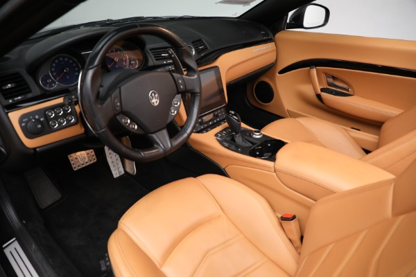 New 2018 Maserati GranTurismo Sport Convertible for sale Sold at Bugatti of Greenwich in Greenwich CT 06830 24