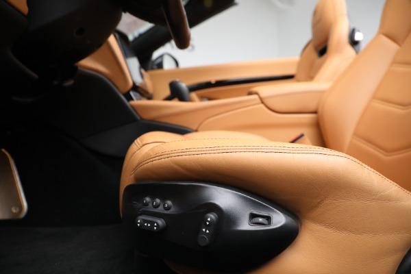 New 2018 Maserati GranTurismo Sport Convertible for sale Sold at Bugatti of Greenwich in Greenwich CT 06830 26