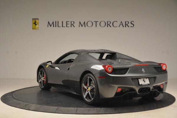 Used 2013 Ferrari 458 Spider for sale Sold at Bugatti of Greenwich in Greenwich CT 06830 17