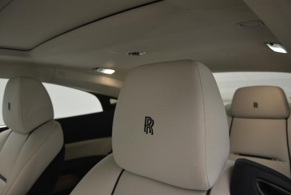 New 2016 Rolls-Royce Wraith for sale Sold at Bugatti of Greenwich in Greenwich CT 06830 18