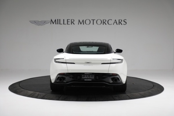 New 2018 Aston Martin DB11 V8 Coupe for sale Sold at Bugatti of Greenwich in Greenwich CT 06830 5
