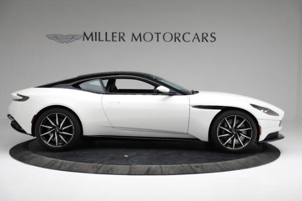New 2018 Aston Martin DB11 V8 Coupe for sale Sold at Bugatti of Greenwich in Greenwich CT 06830 8
