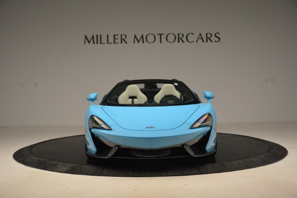 Used 2018 McLaren 570S Spider for sale Sold at Bugatti of Greenwich in Greenwich CT 06830 12