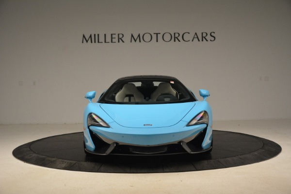 Used 2018 McLaren 570S Spider for sale Sold at Bugatti of Greenwich in Greenwich CT 06830 14